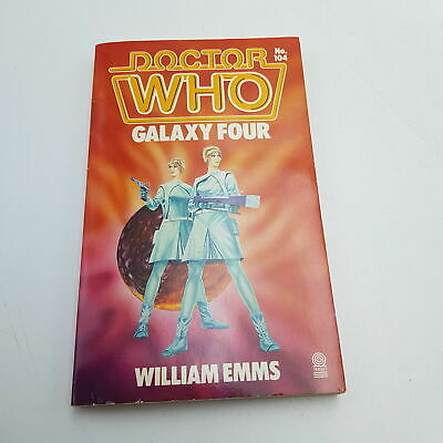 Classic Doctor Who GALAXY FOUR (1986) 1st Edition Target Paperback [VG+] • 8.99£