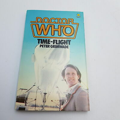 Classic Doctor Who TIME-FLIGHT (1983) 1st Edition Target Paperback [Near Mint] • 5.99£