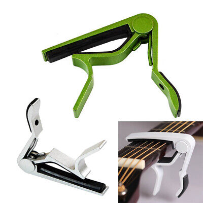 $ CDN3.97 • Buy 1*Guitar Capo Key Clamp Trigger Quick Change For Electric/Classic/Acoustic E2U