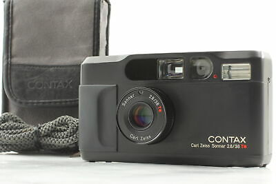 $ CDN2426.29 • Buy 【MINT In Case】 Contax T2 Limited 2000 Black 35mm Point & Shoot Film Camera JAPAN
