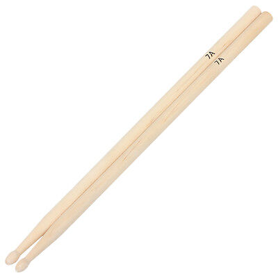 AU9.76 • Buy 1 Pair 7A Practical Maple Wood Drum Sticks Drumsticks Music Bands Accessories WR