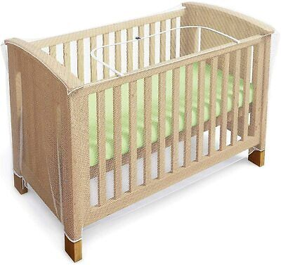 £20.24 • Buy Mosquito Net For Cot Crib Bed Baby Mosquito Insect Net Cat Cover Long Large Set