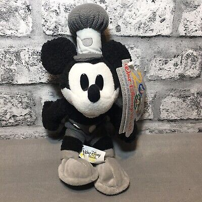 £5.99 • Buy Walt Disney World Exclusive Mickey Mouse Steamboat Willie Beanie Bean Bag Toy