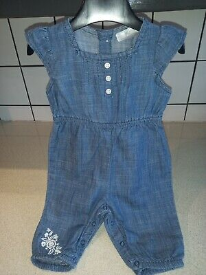 AU1.76 • Buy Baby Girls Playsuit Age 0-3 Months