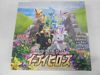 $125.97 • Buy Pokemon Card Sword & Shield Booster Box Eevee Heroes S6a Japanese Factory Sealed