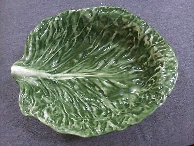 "£35.48 • Buy J Willfred Cabbage Leaf Serving Bowl 12"" RARE"