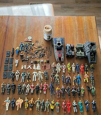 $ CDN491.33 • Buy Huge Lot Of GI JOE And Cobra Figures, Vehicles, Accessories Some 1980s, 90s +++