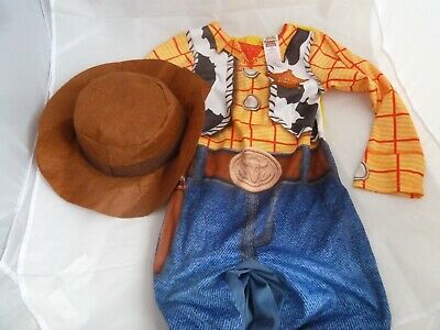 £12.99 • Buy Rubies Disney Toy Story Woody Dressing Up Fancy Dress Outfit 7-8 Years With Hat