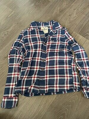 £6.50 • Buy Blue/Red 'Hollister' Check Shirt.  Size Small