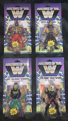 $220 • Buy Mattel WWE Masters Of The Universe Wave 4 Complete (Lot Of 4) Mr. T Jake Fiend