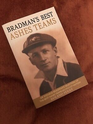 AU7.21 • Buy Bradman's Best Ashes Teams By Roland Perry - Great Condition Paperback