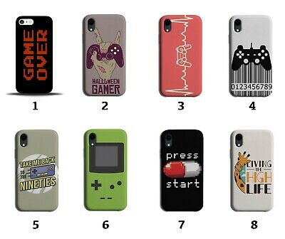 £9.99 • Buy Gaming Phone Case Cover Gamer Retro Vintage Video Games Mens Boys Game 90s 8026i