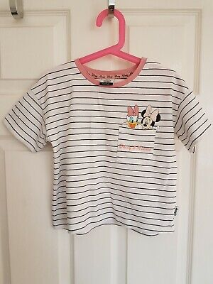 Girls Minnie Mouse Daisy Duck Top • 1£