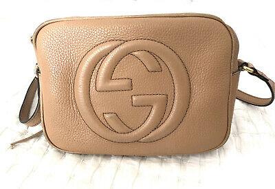 AU700 • Buy Gucci Soho Leather Small Disco Bag, Pre Owned