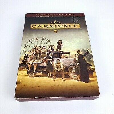 Carnivale - The Complete First Season (DVD, 2012, 4-Disc Set) • 8.48£