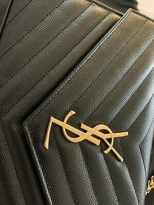 YSL Quilted Clutch WOC 100% Authentic With Receipt • 515£