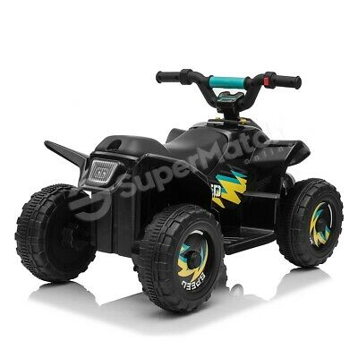 AU79.59 • Buy New Kids Ride-On ATV Quad Bike Toys Ride On Cars 6V Rechargeable Battery Black
