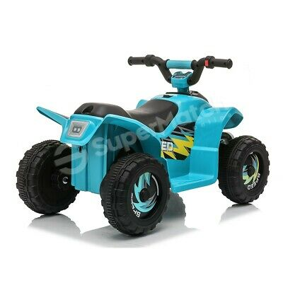 AU79.59 • Buy New Kids Ride-On ATV Quad Bike Toys Ride On Cars 6V Rechargeable Battery Blue