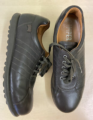 £31.50 • Buy Camper Pelotas Ariel 16002-204 Brown Leather Shoes Euro 44 U.K 9.5