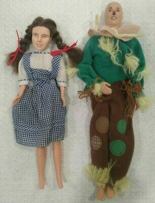 £10.91 • Buy Vintage 1988 Multi Toys Corp Wizard Of Oz 10 Inch Dorothy Doll And Scarecrow Lot