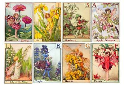 £2.99 • Buy Craft Card Toppers Scrap-Booking Tags Decoupage Flowers Fairies