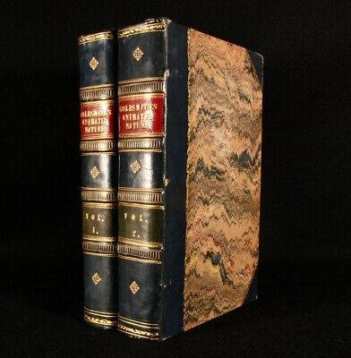 £292.50 • Buy 1840 2vols A History Of The Earth And Animated Nature Oliver Goldsmith Illus