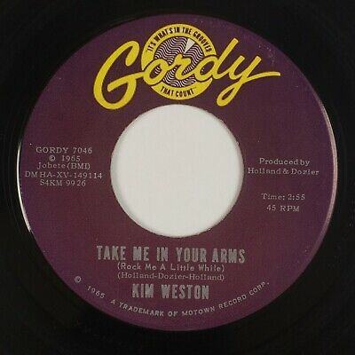 £10.91 • Buy KIM WESTON: Take Me In Your Arms US Gordy Northern Soul 45