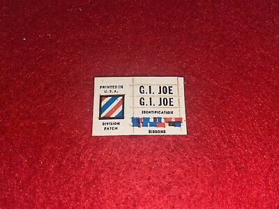 $ CDN12.74 • Buy Vintage Gi Joe Soldier Marine Insignia Boxed Sticker Sheet In Excellent Cond Nr