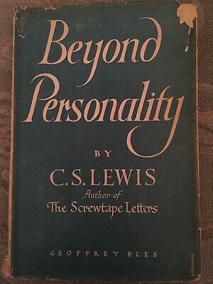 £5 • Buy Beyond Personality By C S Lewis