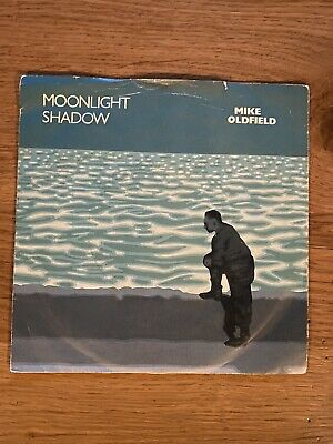 £2.50 • Buy Mike Oldfield 'moonlight Shadow' Uk 7  Single 1983 Virgin Vgc A2/b2