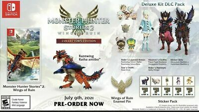 AU450.54 • Buy Monster Hunter Stories 2 & Monster Hunter Rise Collectors Edition READ! Pre-Sale