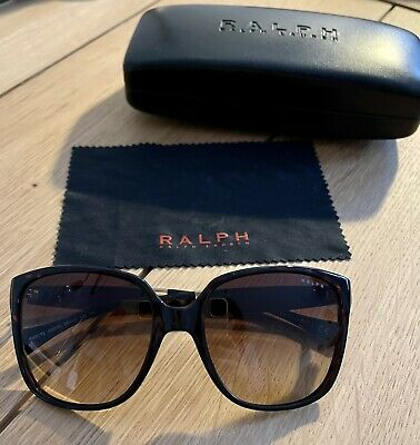 Ralph Lauren Sunglasses (Havana & Gold, Brown Lenses) • 10£