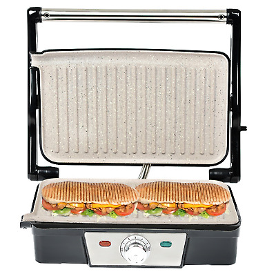 £37.68 • Buy 180° Fold-Out Health Grill Panini Press Machine Electric Sandwich Toaster Maker