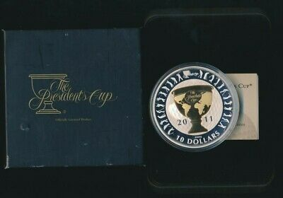 AU349.99 • Buy Australia 2011 $10 99.9 Silver 5oz Proof Presidents Cup Mintage Of 1500