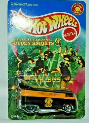 $ CDN24.18 • Buy Hot Wheels Golden Knights Vw Drag Bus #22488 Shipped In Protector Pack