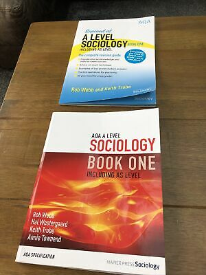 £8 • Buy A Level Sociology Revision Guide Book One