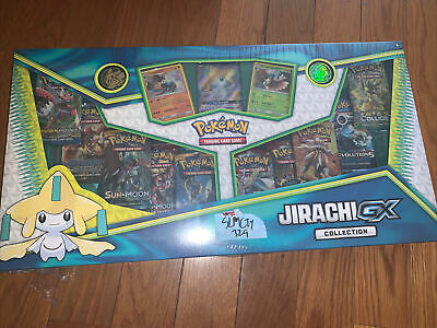 $64.95 • Buy NEW Sealed Pokemon TCG: Jirachi GX Collection Box Cards Set Contents Only No Box