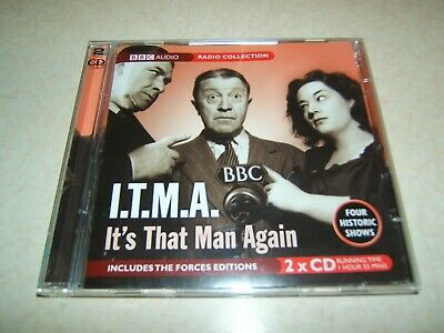 £6.99 • Buy It's That Man Again : 4 Historic Shows     Tommy Handley  Bbc  2 Disc Audio Cd