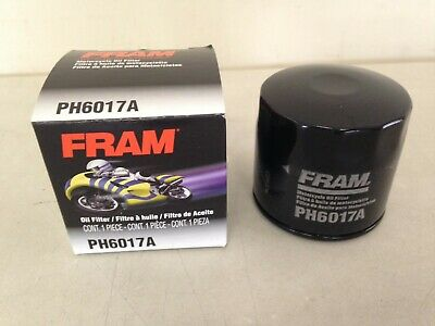 $9.99 • Buy USA Fram Factory Fresh PH6017A Motorcycle Cycle ATV Marine Oil Filter Fits MANY!