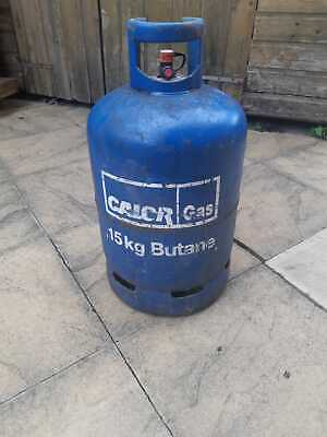 £20 • Buy (NEAR EMPTY) CALOR 15KG Butane Gas Canister Camping/BBQ/Heating