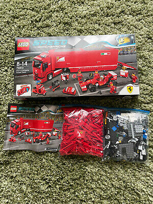£43 • Buy Lego Speed Champions Ferrari Truck 75913, Great Condition, Complete Set
