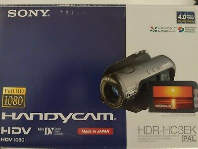 £53 • Buy Sony HDR-HC3E Camcorder,Full HD, HDV MiniDV.+DV-IN/OUT Complete With Accessories