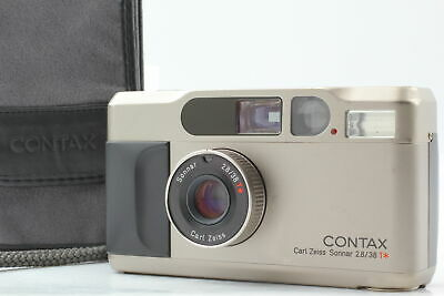 $ CDN1140.35 • Buy [N MINT W/ Case] Contax T2 Titan 35mm Point & Shoot Film Camera From JAPAN