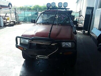 AU5 • Buy Toyota 4 Runner Manual Vehicle Wrecking Parts 1992