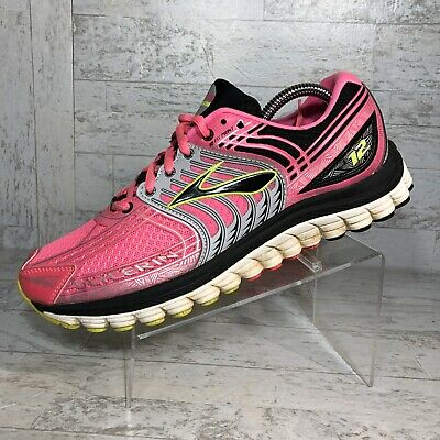 $ CDN45.94 • Buy Brooks Glycerin 12 Women's Size 9.5 M Pink Black Running Shoes * No Insoles *