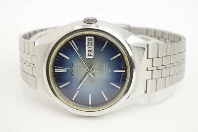 $ CDN361.55 • Buy SEIKO LORD MATIC 5206-6110 LM Day-Date Automatic Blue Dial Watch