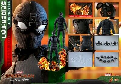 $ CDN483.67 • Buy Hot Toys MMS541 1/6 Spider-Man Sneak Stealth Battle Suit Collection Figure Model