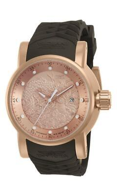 $ CDN1.20 • Buy Invicta S1 Rally 12791 Men's Rose Gold Tone Date Automatic Silicone Watch Dragon