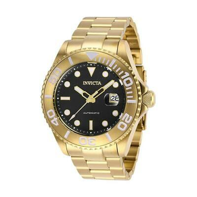 $ CDN1.20 • Buy Invicta Pro Diver 27306 Men's Black Round Analog Date Automatic Watch