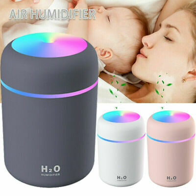 AU17.95 • Buy Electric Air Diffuser Aroma Oil Humidifier LED Night-Light Up Home Relax Defuser